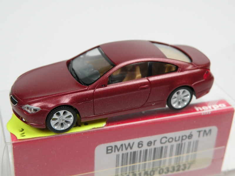 BMW 6 coupe (1/87 Herpa 033237)