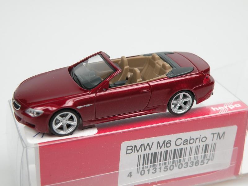 BMW M6 cabrio (1/87 Herpa 033657)