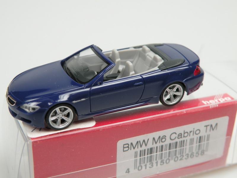 BMW M6 cabrio (1/87 Herpa 023658)