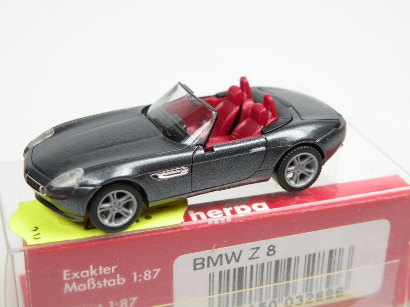 BMW Z8 (1/87 Herpa 032896)