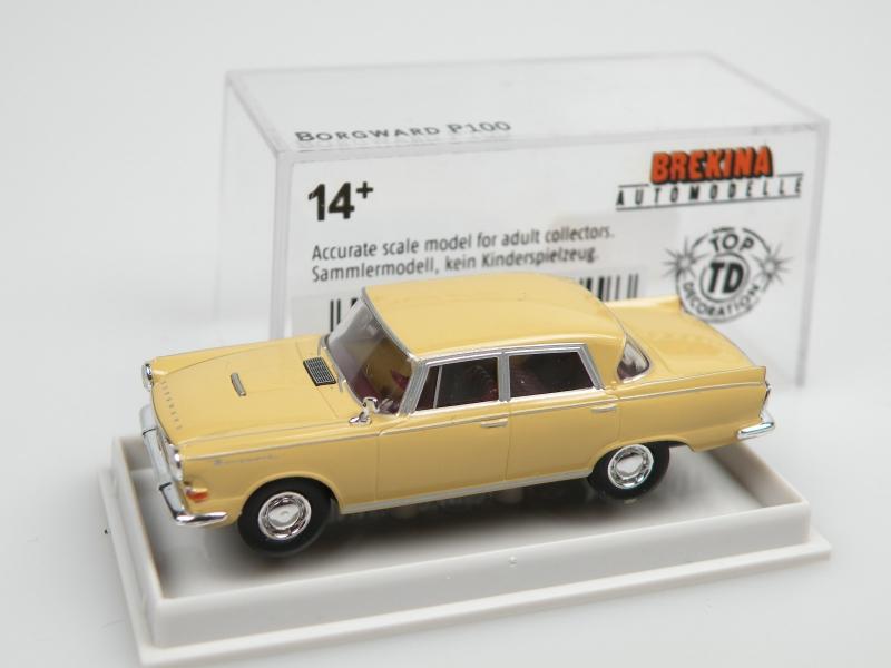 Borgward P100 (1/87 Brekina 15501)