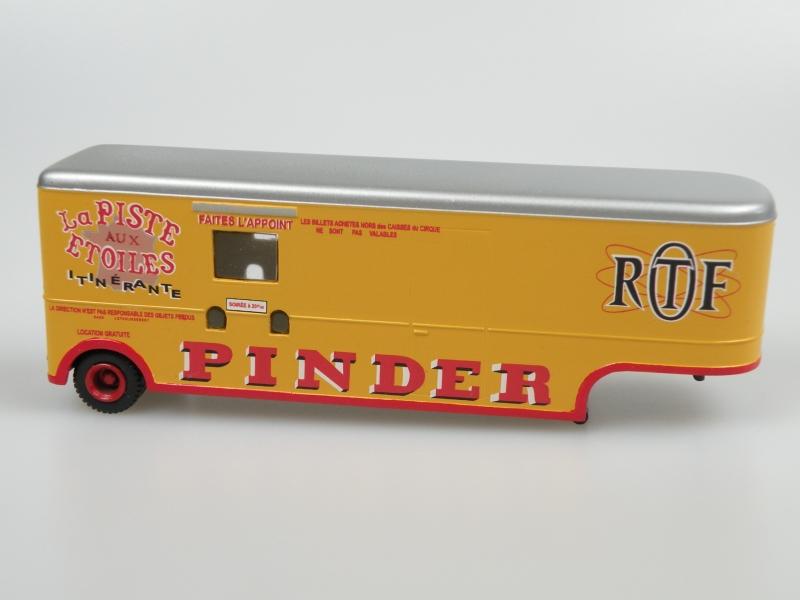 Pinder Cirque Trailer