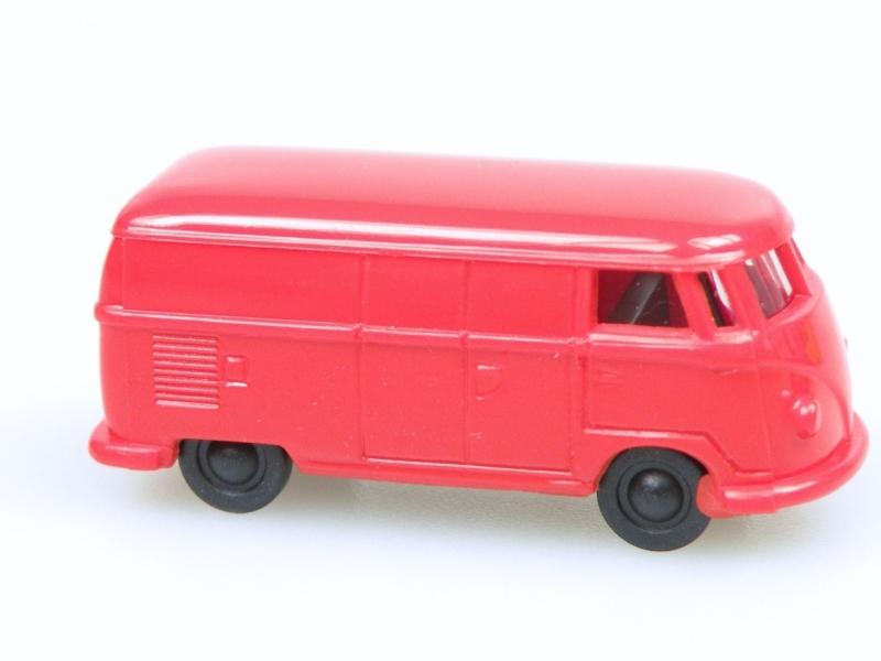 VW van (1:120) červený/red