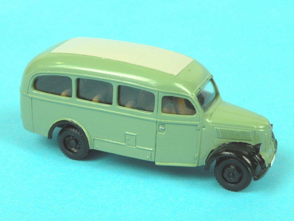 '49 Granit 27 bus zelený
