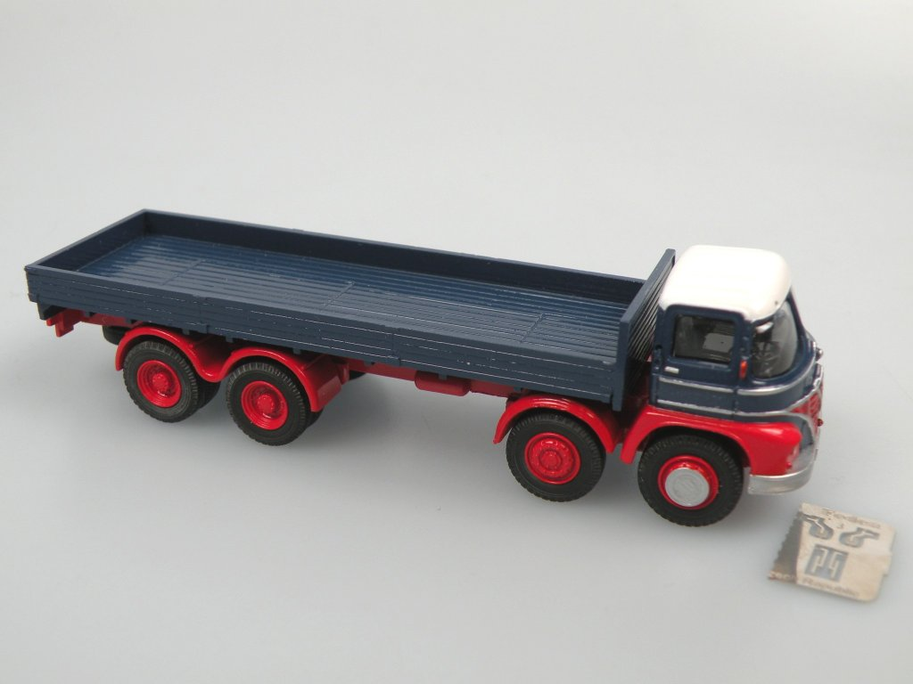 Foden S21 low sides truck