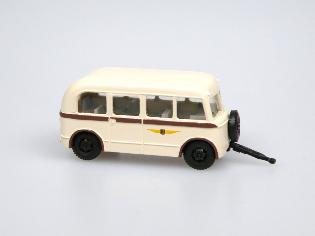 W701/L linkový autobus.přívěs Dresden