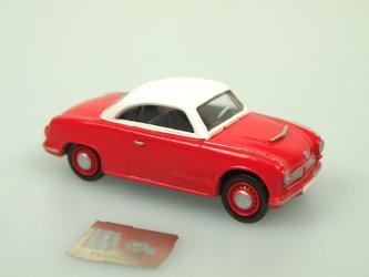 AWZ P70 Coupe červená/bílá