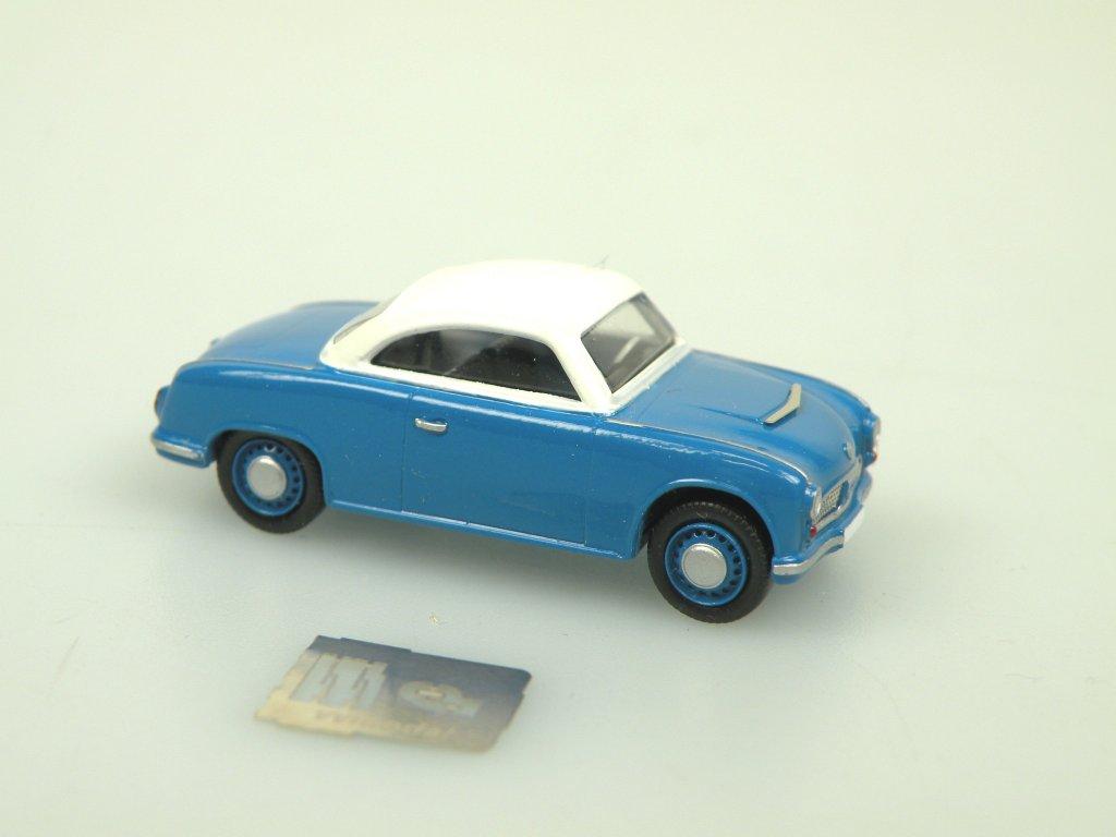 AWZ P70 Coupe modrá/bílá